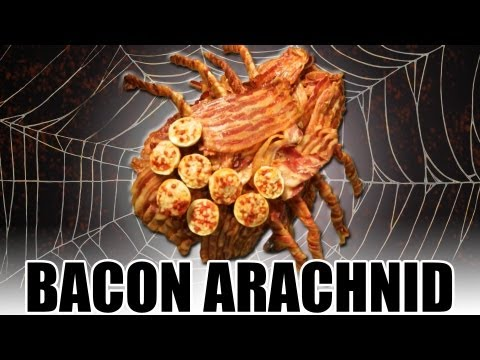 Bacon Arachnid - Epic Meal Time