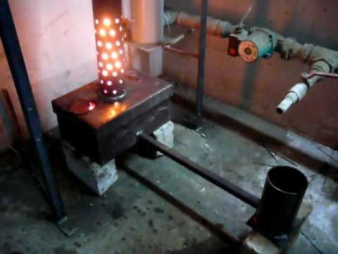 Печка отработанном масле своими руками