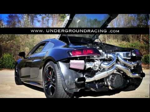 Twin Turbo Audi R8 V10  1260HP