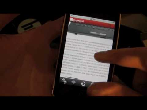 Opera Mini Review (iphone ipod Touch) video