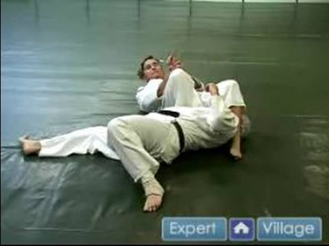Judo Throws & Moves : The Escape From The Guard Judo Move Image 1