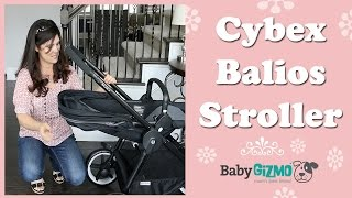 Cybex Balios Stroller Review by Baby Gizmo