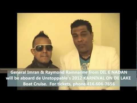 Karnival On De Lake Boat Cruise 2012 promo. Live Performance