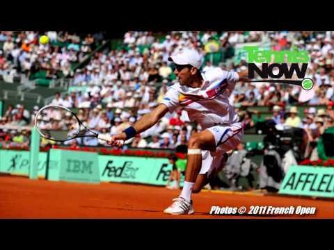 全仏オープン Women's Semis, フェデラー Helps Fan, マレー and フェデラー Underdogs In Semis