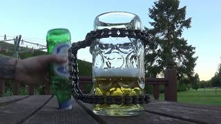Making a Motorcycle Chain Beer Tankard