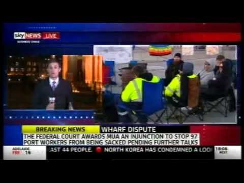 Hutchison Ports Dispute - 13 Aug 2015 - Sky News