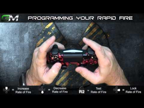 GamerModz PS4 SPS-X3 Ver. 2.0 - Rapid Fire Modded Controller Tutorial
