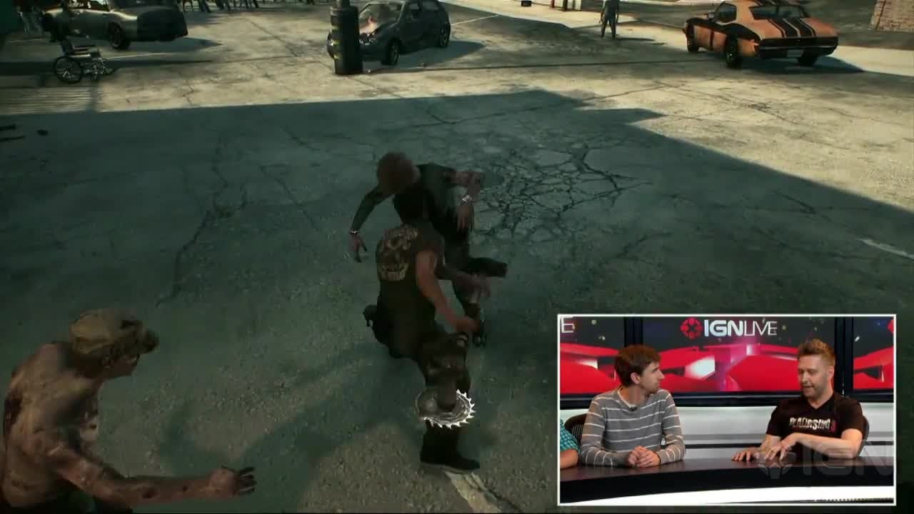Dead Rising 3 Demo - IGN Live