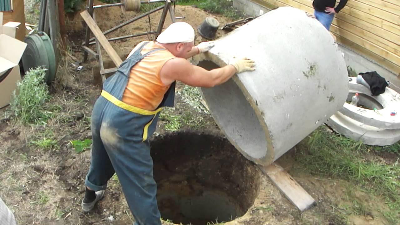 Как сделать из колец бетонных 999