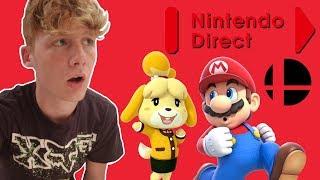 Nintendo Direct 9.13.18 Reaction - ISABELLE?! PEACHETTE?!?