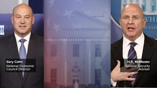 White House advisers Gary Cohn and H.R. McMaster on Kushner controversy