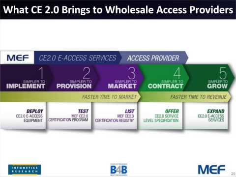 Unlocking Revenues with Carrier Ethernet 2.0 Wholesale Ethernet Access