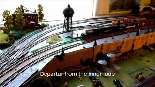 A review Movie of the HO dcc Trix 22599 Big Boy 4015. Modelleisenbahn pur!