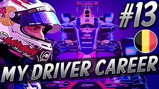 HUGE AIRBORNE VERSTAPPEN CRASH! - F1 MyDriver CAREER S4 PART 13: BELGIUM