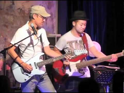 Sadowsky Players at Tsunami Relief Live. Aug. 15 , 2011 Blues Alley Tokyo.