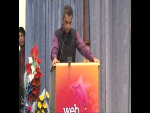 Milind Deora's speech during Web Ratna Awards 2012