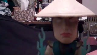 RARE Wacky Wobbler Bobblehead MK 9 Raiden Glow in the Dark(2011 CC Exclusive) Review/Unboxing