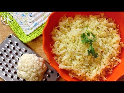 How To Make Cauliflower Rice   Keto Essentials   Headbanger's Kitchen