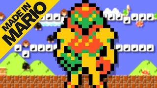 5 Awesome Metroid Levels in Super Mario Maker - Made in Mario