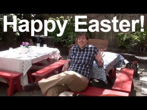 Happy Easter!  AA vowel followed by nasal consonants – American English pronunciation
