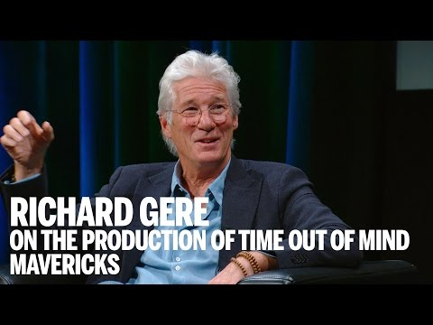 RICHARD GERE on the production of TIME OUT OF MIND   Mavericks   Festival 2014