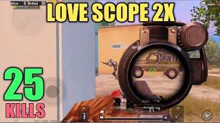 If You Like Scope 2x Watch This | 25 Kills Vs Squad | PUBG Mobile
