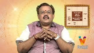 இன்றைய ராசி பலன்கள் (24/01/2019) - Astrologer Shelvi | Yogam Nalla Yogam [Epi 1603]