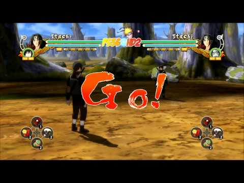 Naruto Shippuden: Ultimate Ninja Storm 3 -  All ALT DLC Costumes Part 1