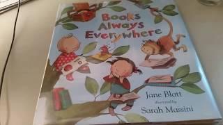 Books Always Everywhere by Jane Batt Read Aloud