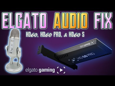 How To FIX Elgato MICROPHONE Audio HD60 HD60 Pro & HD60 S   Elgato Mic FIX   Live Commentary Mic Fix