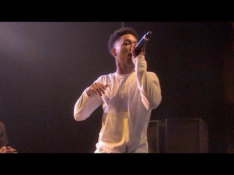 Jacob Latimore Performs 'ah Yeah' At The Rave video