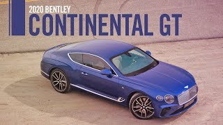 2020 Bentley Continental GT First Drive Review Road Test