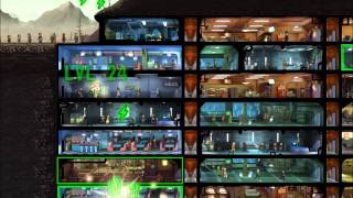 Fallout Shelter - 200 Dwellers - MAX Exploration Team