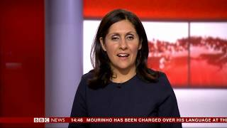 Maryam Moshiri BBC News Channel HD Afternoon Live Business October 16th 2018