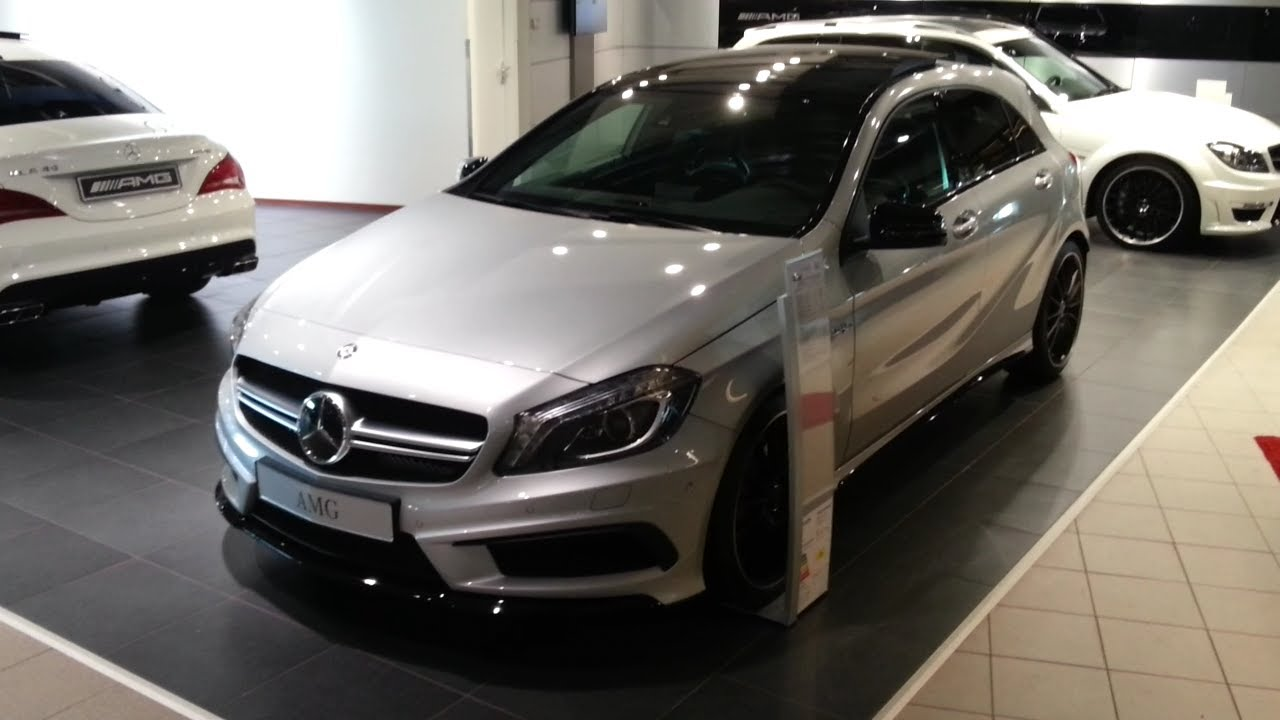 Mercedes Benz A45 Amg 2015 In Depth Review Interior