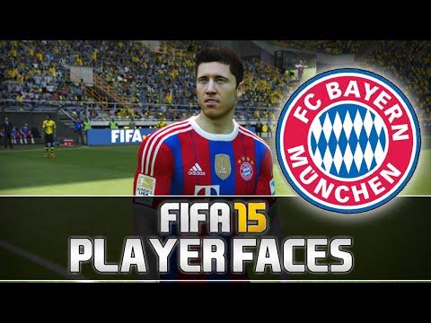 Fifa 15   Bayern München Player Faces [1080p]   w/ Neuer, Lewandowski & more!   MetiHD