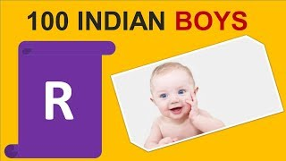 100 Indian baby Boy names with R