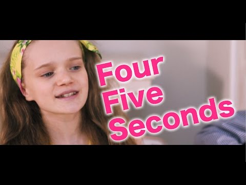 Four Five Seconds - Rihanna, Kanye West, Paul McCartney - Live Cover by 12 Year Old Sapphire