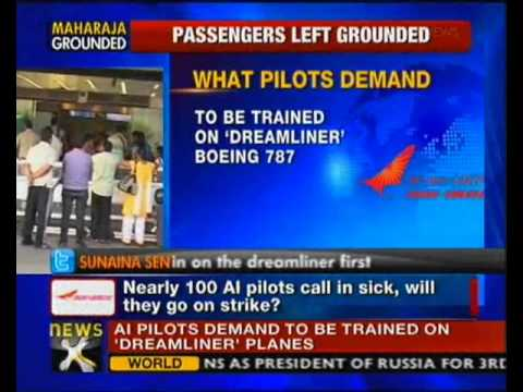 Air India crisis: 100 pilots call in sick; 4 flights cancelled - NewsX