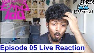 Mob vs Teru!! - Mob Psycho 100 Anime Episode 05 Live Reaction