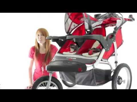 Schwinn Arrow Double Stroller. Schwinn Double Jogging Stroller Review