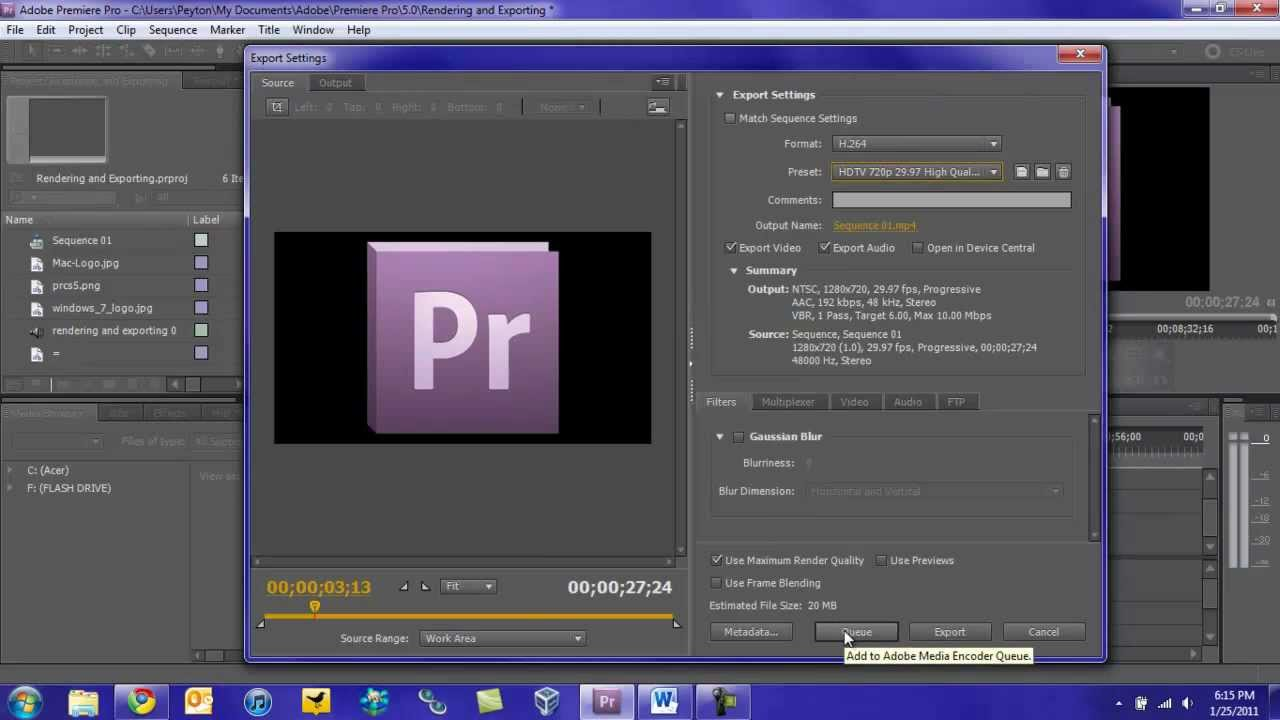 Video editing and production software