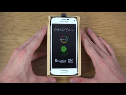 Samsung Galaxy S5 Mini - Unboxing (4K)