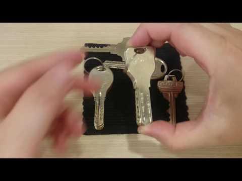 GOAL brand door lock key types