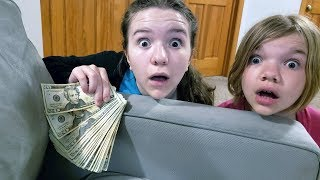 We Found $1000 Under Our Couch Cushions