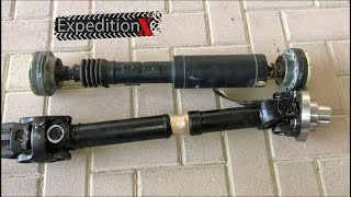 Tom Woods Rear Driveshaft Installation