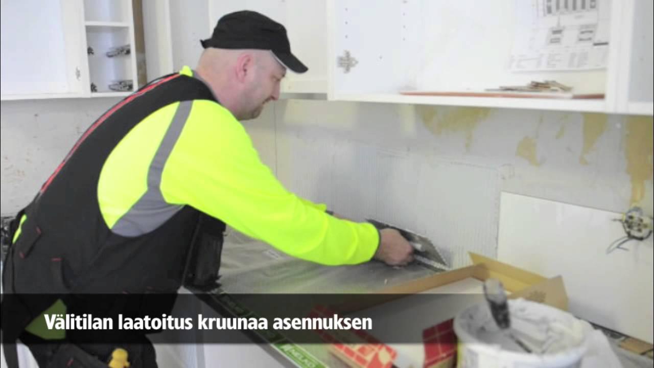 Nelko keittiöremontti  YouTube