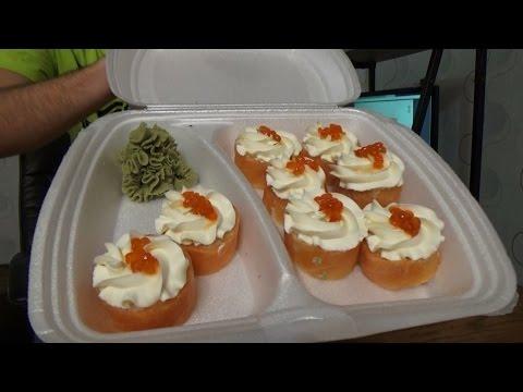 Надеюсь это единичный случай... Обзор доставки суши, роллов и пиццы в Уфе Калифорния Vilimas TV #18