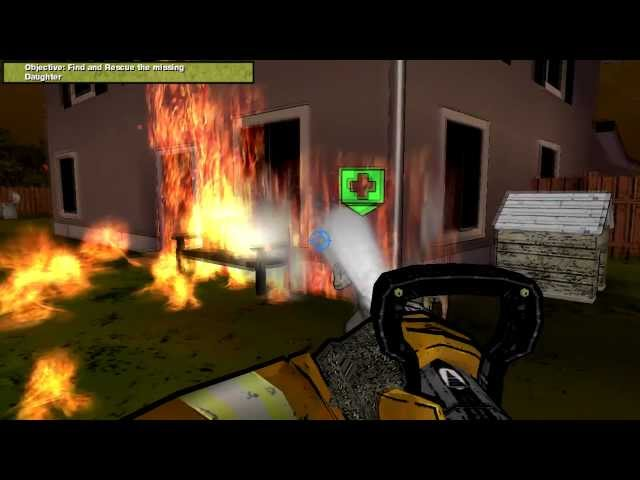 Real Heroes: Firefighter Walkthrough Mission 3 HD