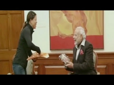 MC Mary Kom meets prime minister, invites him for academy's inauguration